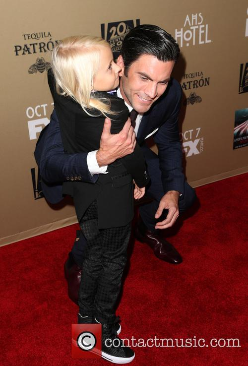 Wes Bentley and Lennon Henry 2