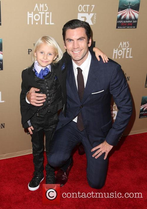 Wes Bentley and Lennon Henry 1