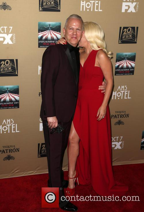 Ryan Murphy and Lady Gaga 3