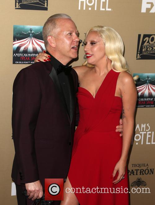 Ryan Murphy and Lady Gaga 4