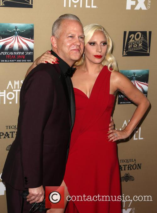 Ryan Murphy and Lady Gaga 5