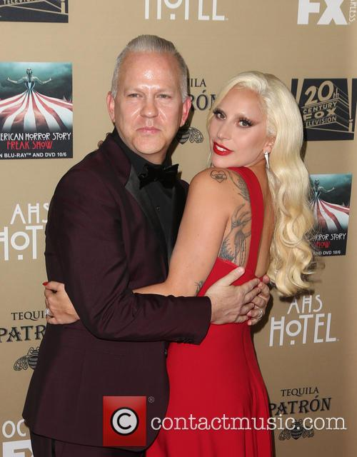 Ryan Murphy and Lady Gaga 6