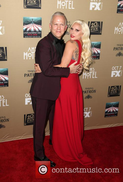 Ryan Murphy and Lady Gaga 1