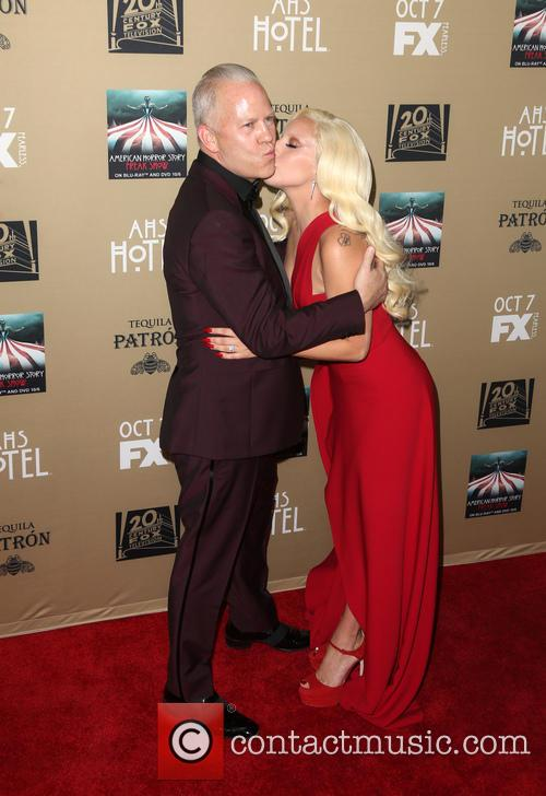 Ryan Murphy and Lady Gaga 7