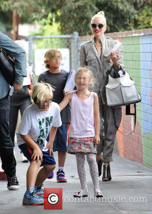Gwen Stefani, Kingston Rossdale and Zuma Rossdale 2