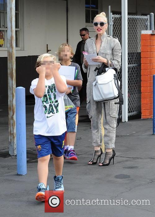 Gwen Stefani, Kingston Rossdale and Zuma Rossdale 4