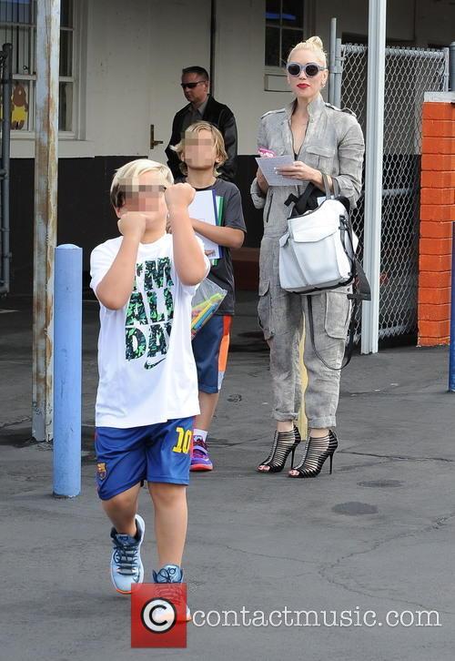 Gwen Stefani, Kingston Rossdale and Zuma Rossdale 1