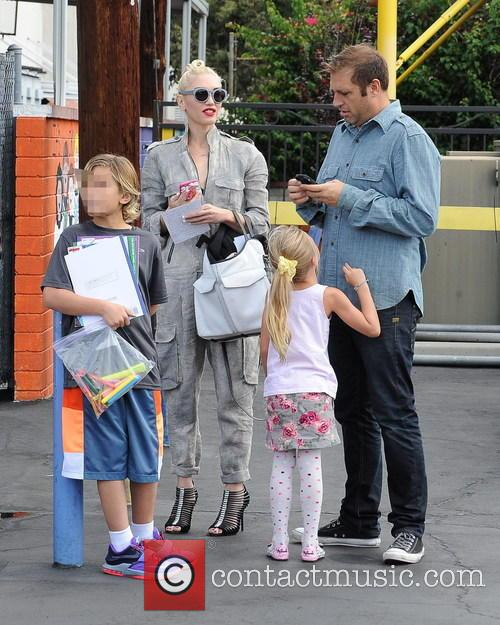 Gwen Stefani and Kingston Rossdale 10