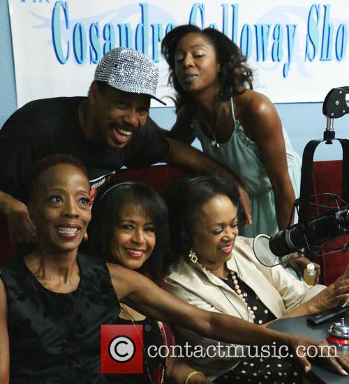Cosandra Calloway, Victor Orlando, Scherrie Payne and Susaye Greene 2