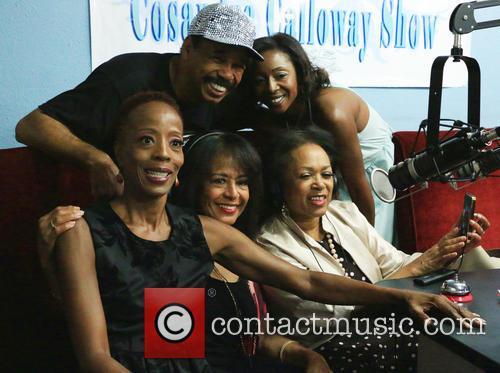 Cosandra Calloway, Victor Orlando, Scherrie Payne and Susaye Greene 1