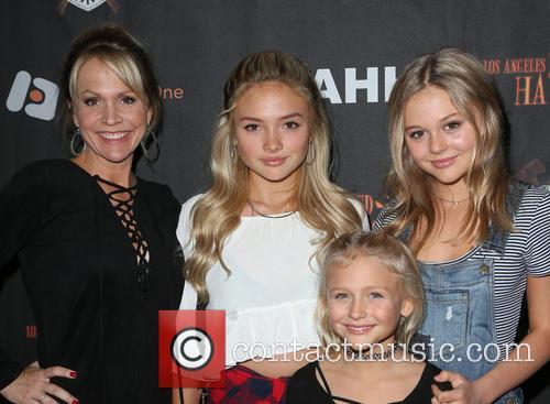 Barbara Alyn Woods, Natalie Alyn Lind, Alyvia Alyn Lind and Emily Alyn Lind 1