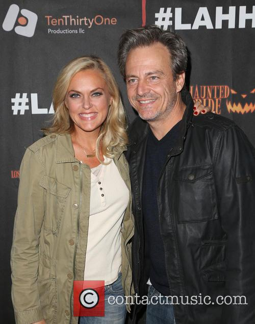 Elaine Hendrix and Salvator Xuereb 1