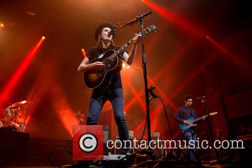 James Bay performs live at Cambridge Corn Exchange