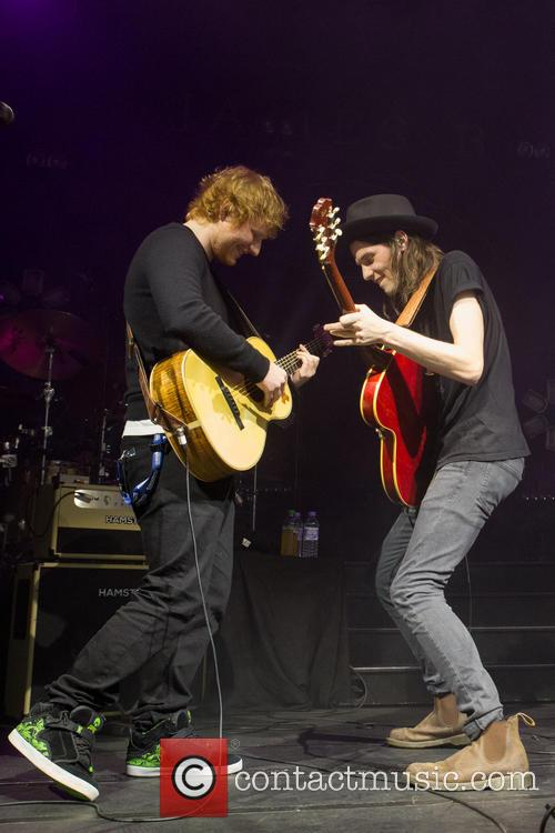 James Bay and Ed Sheeran