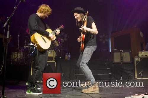 James Bay and Ed Sheeran 6