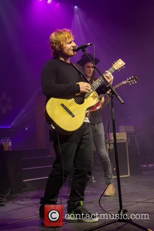 James Bay and Ed Sheeran 7