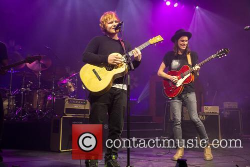James Bay and Ed Sheeran 8