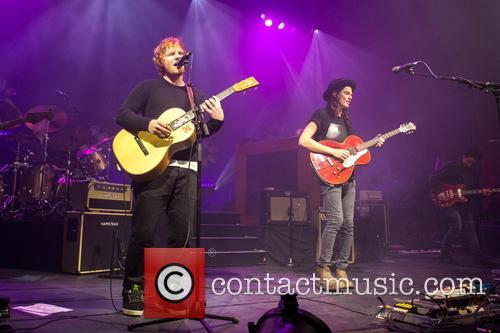 James Bay and Ed Sheeran 9