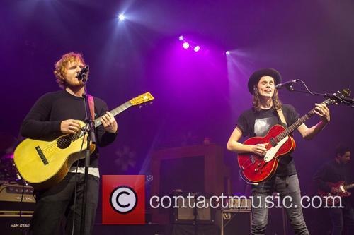 James Bay and Ed Sheeran 10