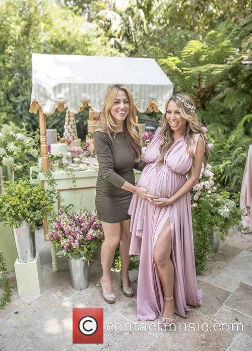Diana Madison's baby shower at Hotel Bel-Air