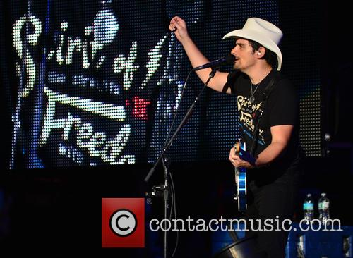 Brad Paisley performs live in concert