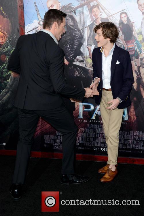 Hugh Jackman and Levi Miller 2