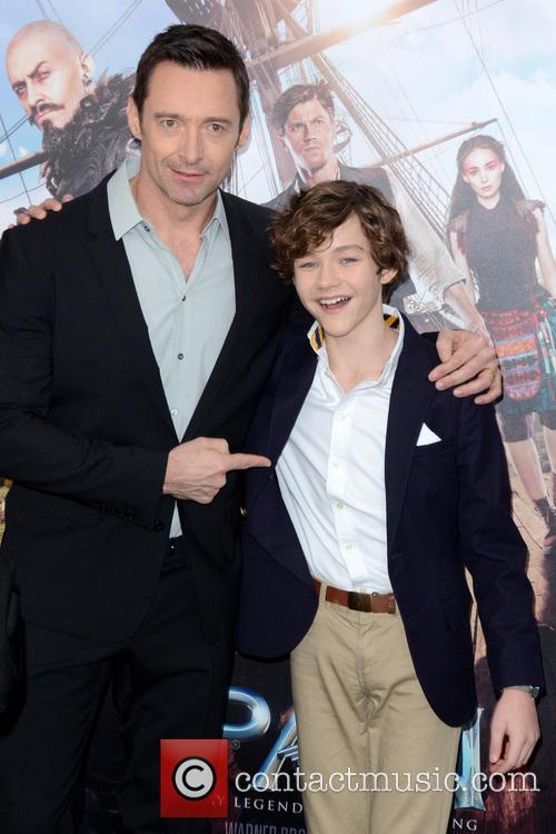 Hugh Jackman and Levi Miller 3
