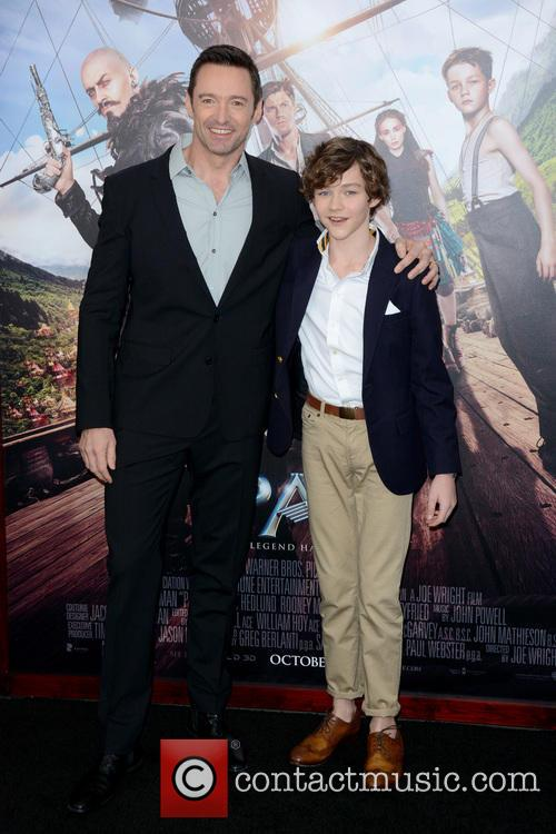 Hugh Jackman and Levi Miller 4