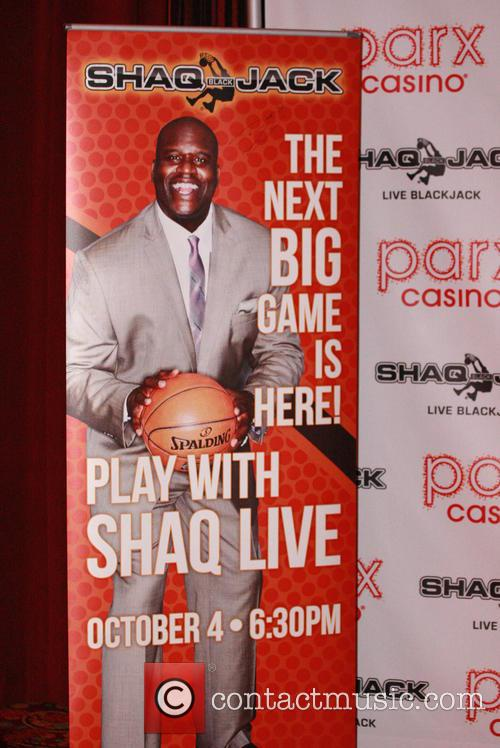 Shaquille O'neal and Parx Casino 1