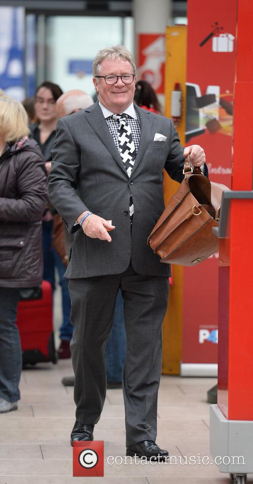 Jim Davidson Spotted Manchester