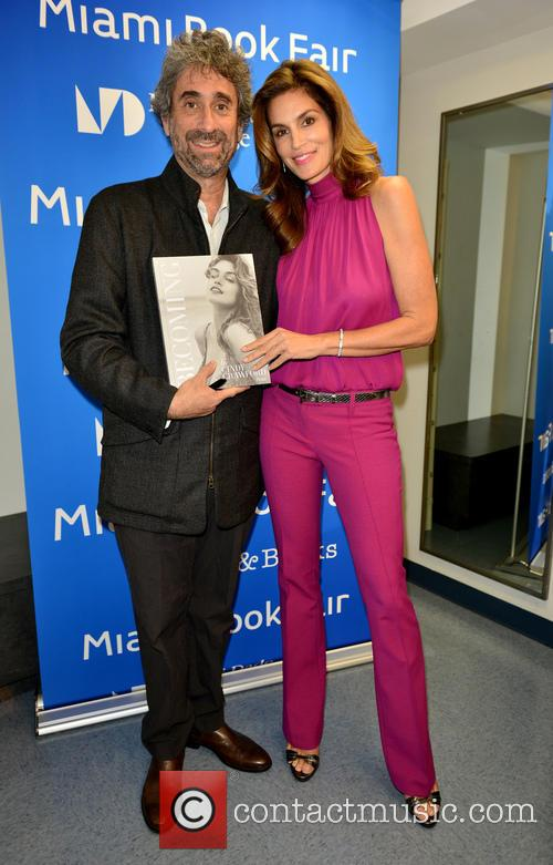 Mitchell Kaplan and Cindy Crawford 2