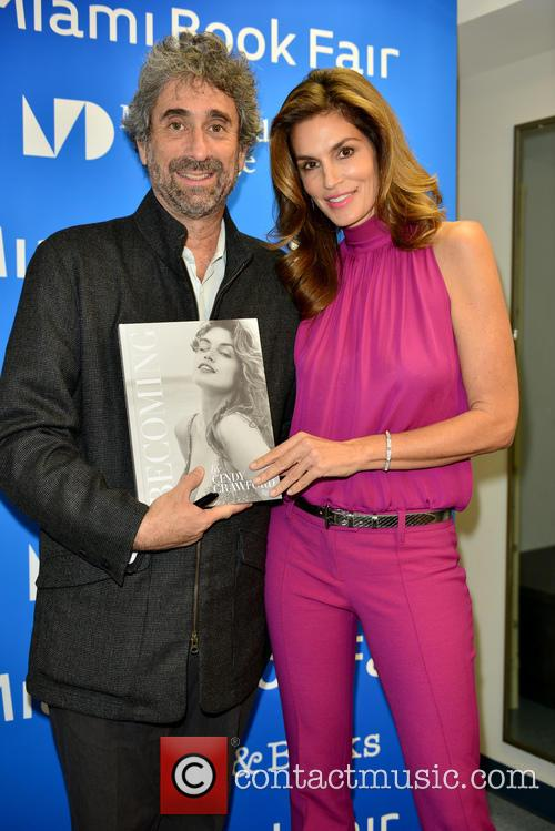 Mitchell Kaplan and Cindy Crawford 1