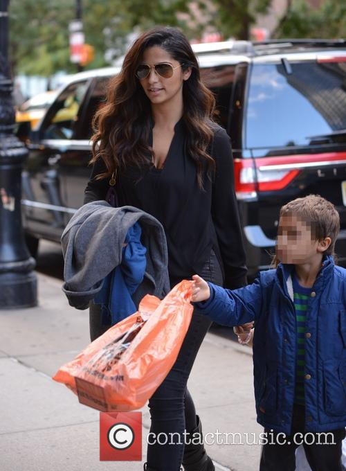 Camila Alves and Levi Alves Mcconaughey 1