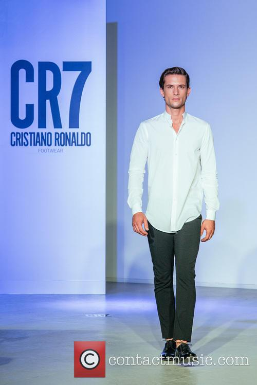 Cristiano Ronaldo and Model 4