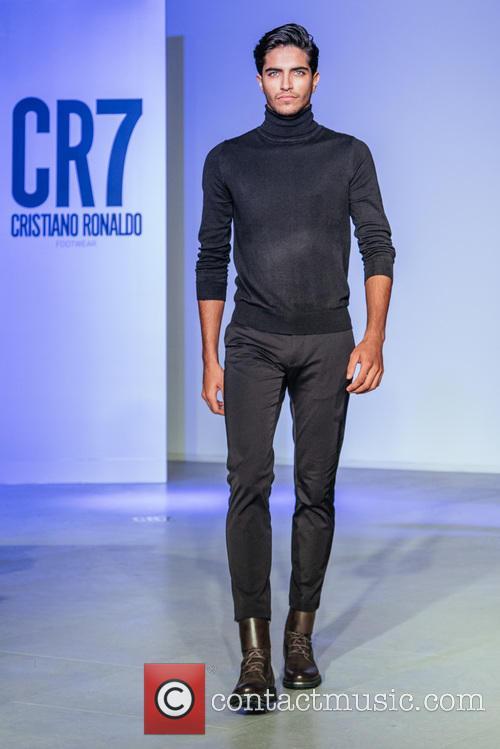 Cristiano Ronaldo and Model 1