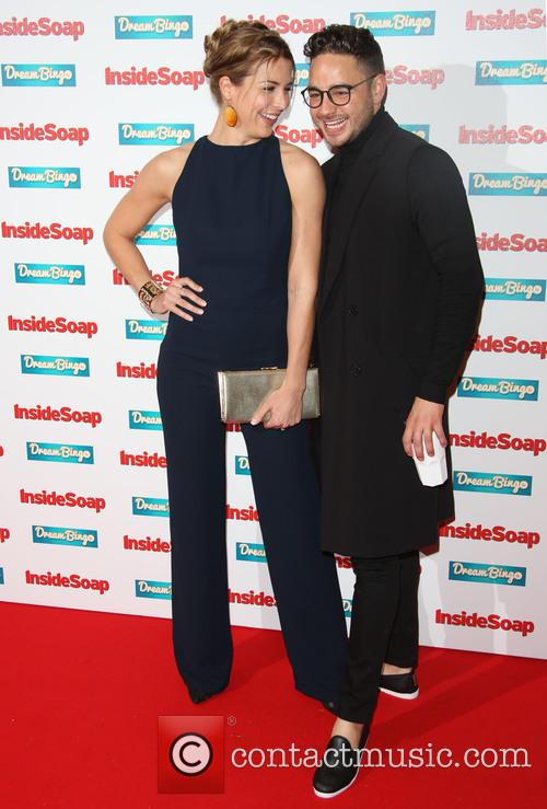 Gemma Atkinson and Adam Thomas 1