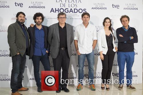 Carmelo Gomez, Tamar Novas, Gerardo Herrero, Antonio Garrido and Celia Freijeiro 1