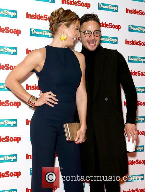 Gemma Atkinson and Adam Thomas 2