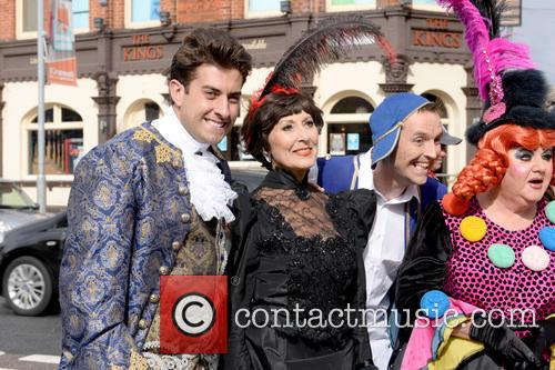 James Argent, James Arg Argent and Anita Harris 1