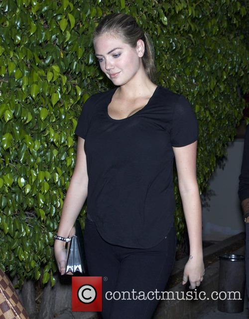 Kate Upton and Justin Verlander leaving Matsuhisa