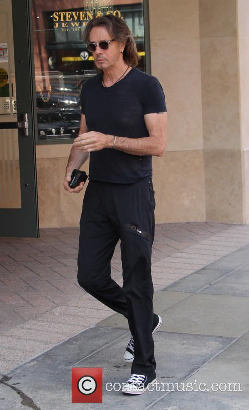 Rick Springfield out in Beverly Hills