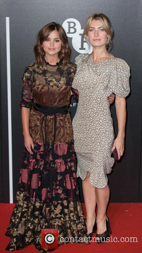 Jenna Coleman and Sally Oliver 2