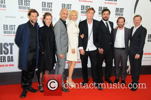 Lars Rudolph, Franziska Wulf, Christoph Maria Herbst, Katja Riemann, Oliver Masucci, David Wnendt, Fabian Busch and Michael Kessler 1