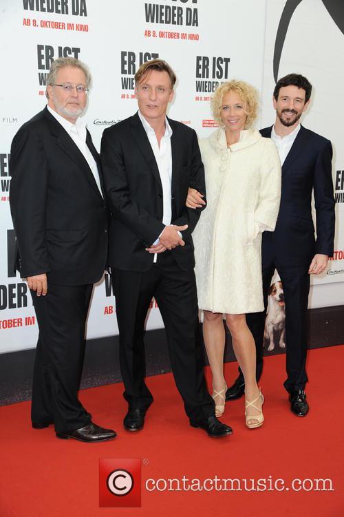 Martin Moszkowicz, Oliver Masucci, Katja Riemann and Oliver Berben 3