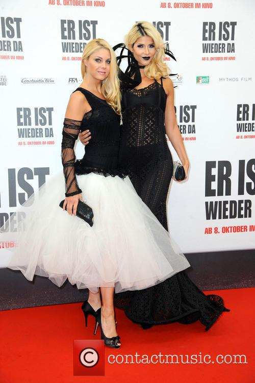 Yvonne Woelke and Micaela Schaefer 1