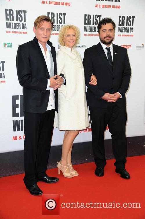 Oliver Masucci, Katja Riemann and David Wnendt 2