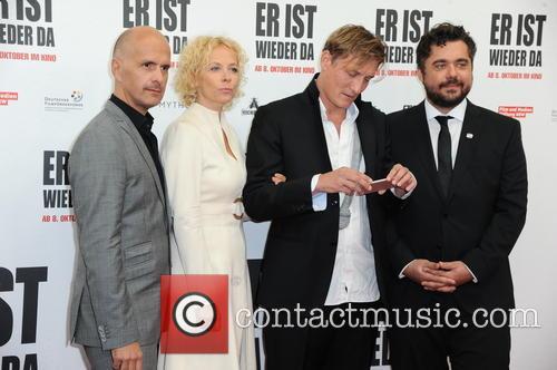 Christoph Maria Herbst, Katja Riemann, Oliver Masucci and David Wnendt 3