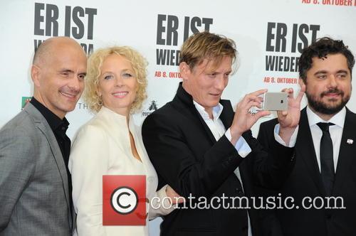 Christoph Maria Herbst, Katja Riemann, Oliver Masucci and David Wnendt 5