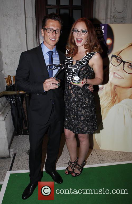 Ritchie Neville and Natasha Hamilton 2