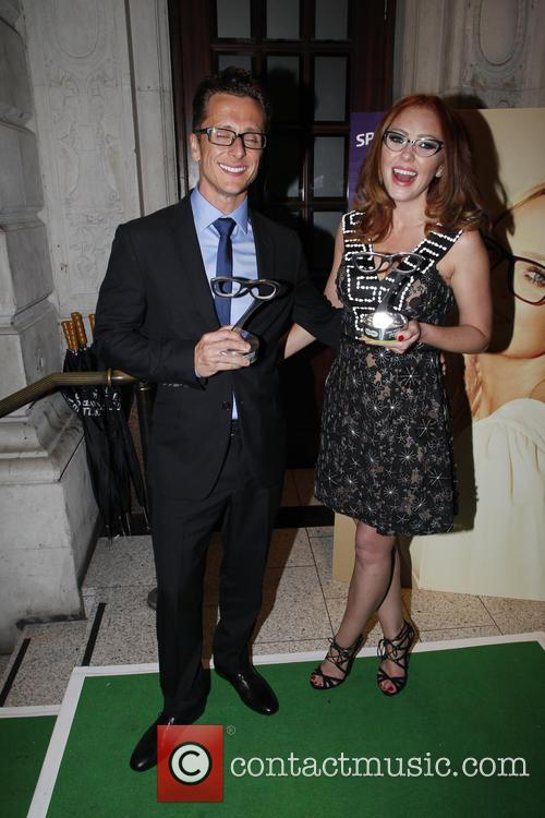 Ritchie Neville and Natasha Hamilton 3